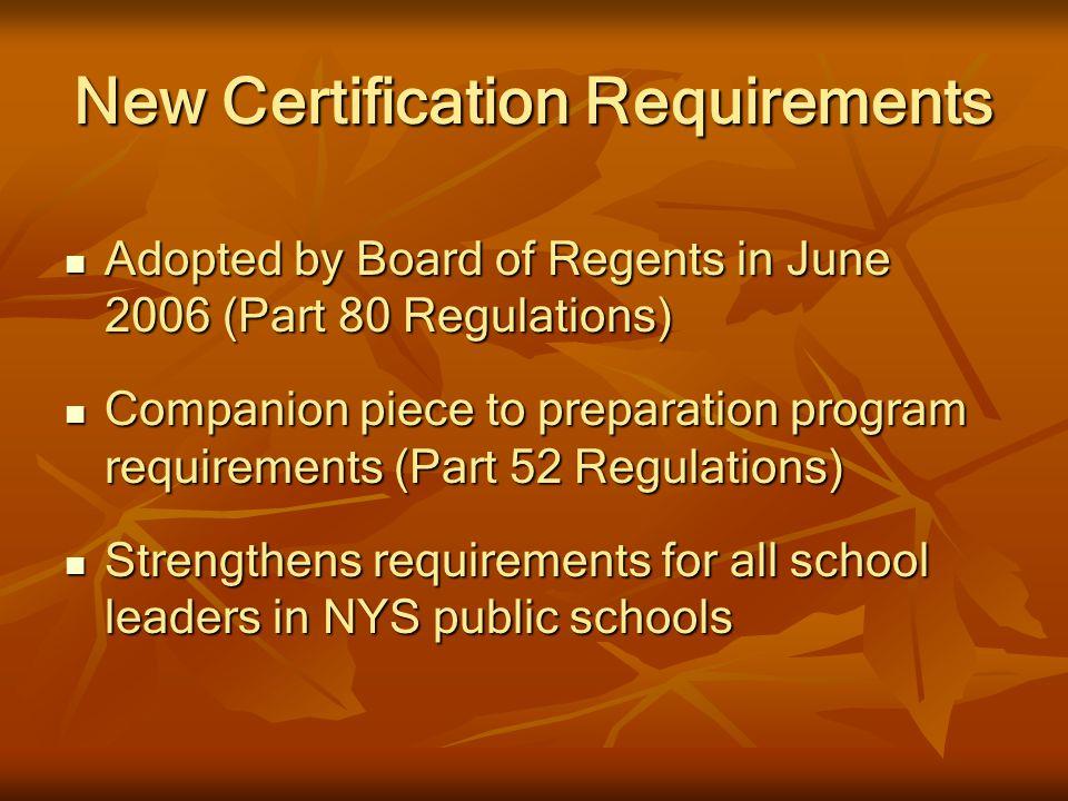Certification of School Leaders - ppt video online download