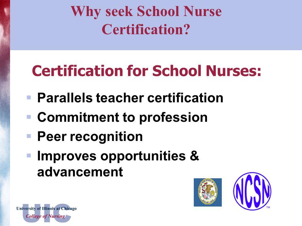 School Nurse Certificate Program - ppt video online download