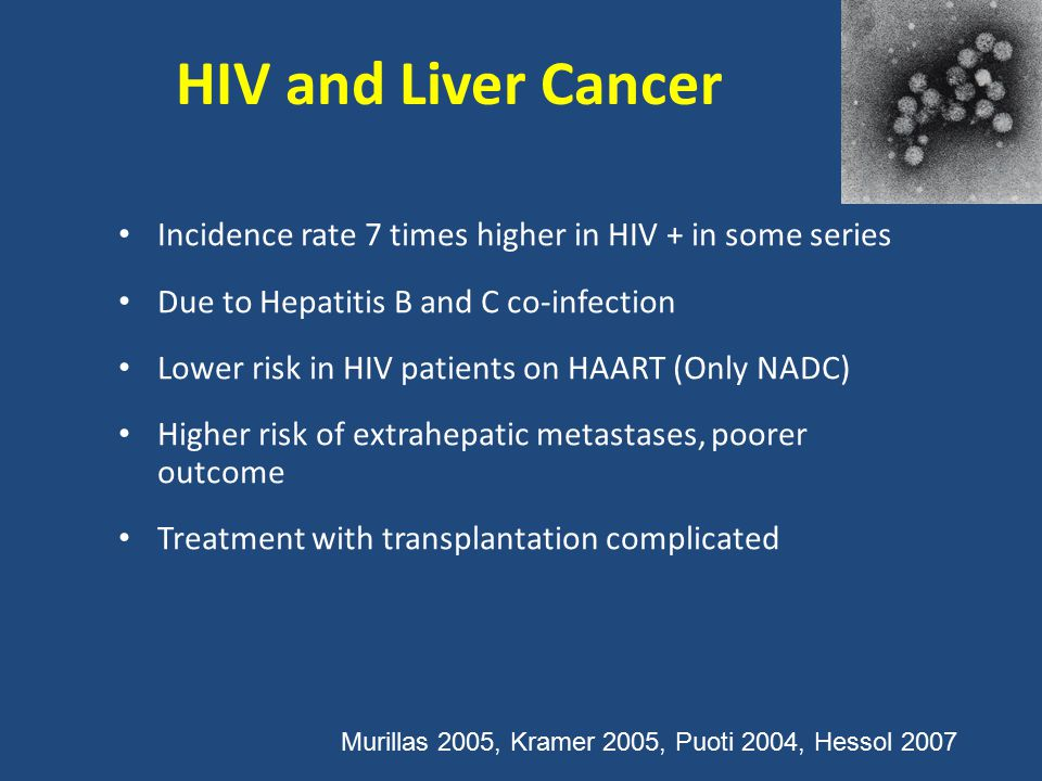 hiv and liver cancer