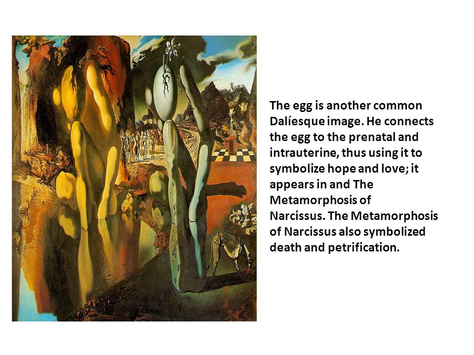 metamorphosis of narcissus painting analysis