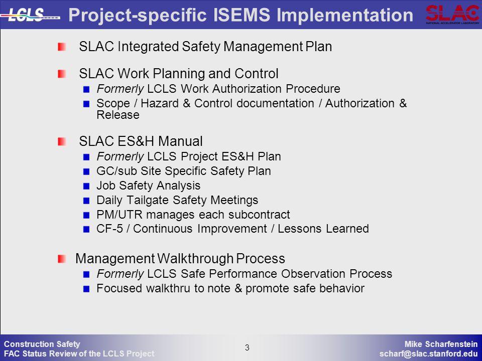 M Scharfenstein ESH Coordinator 8 June ppt download – Job Site Specific Safety Plan