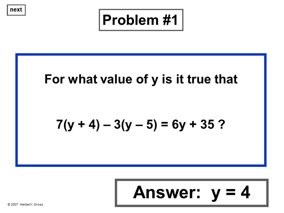 Algebra Problems… Solutions - ppt download
