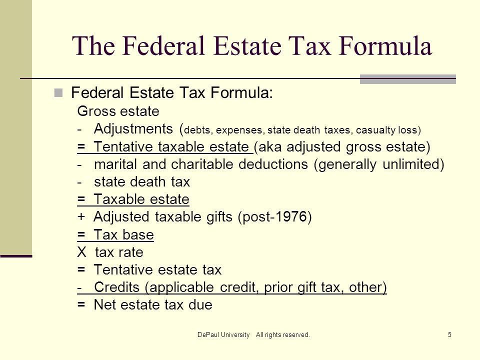 Federal Gift Tax Formula Gift Ideas
