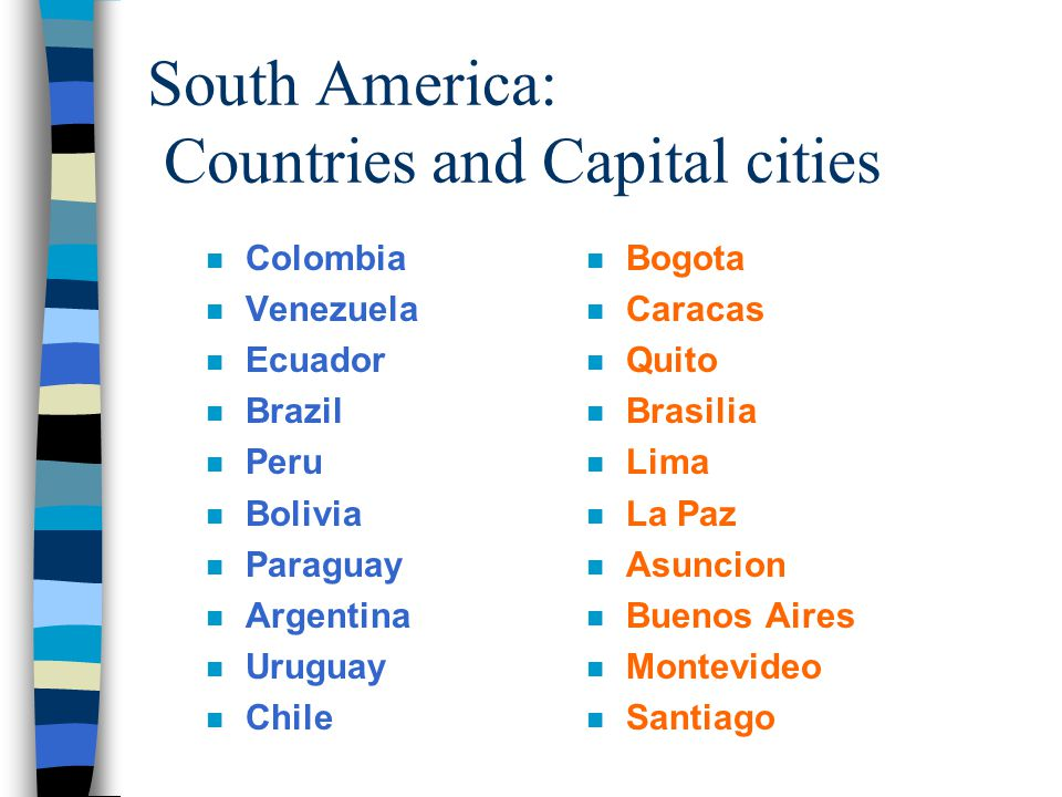 AGED 4713 By Manuel Corro AGED ppt video online download Capital City South America on