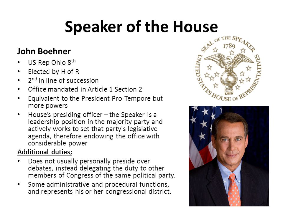Leadership in Congress - ppt download
