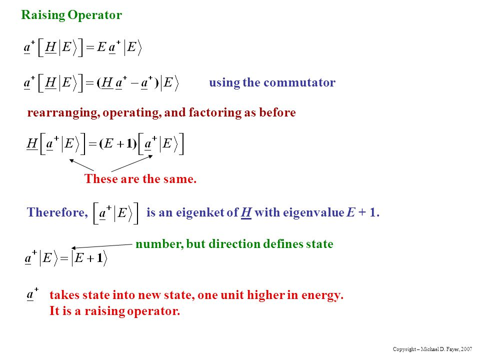 rearranging, operating, and factoring as before