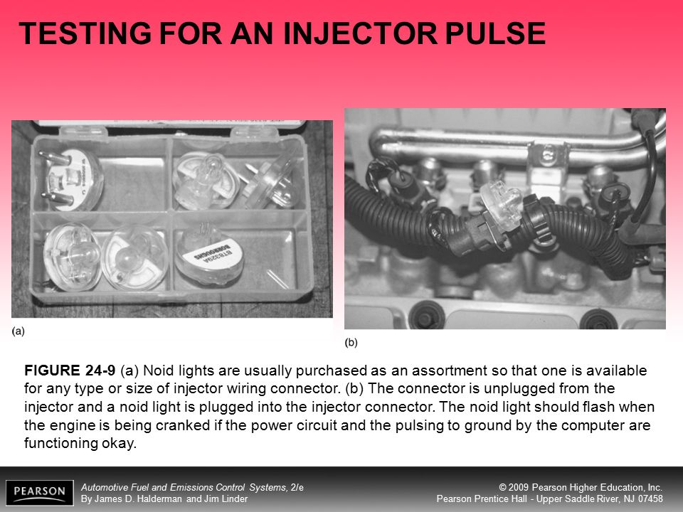 TESTING FOR AN INJECTOR PULSE