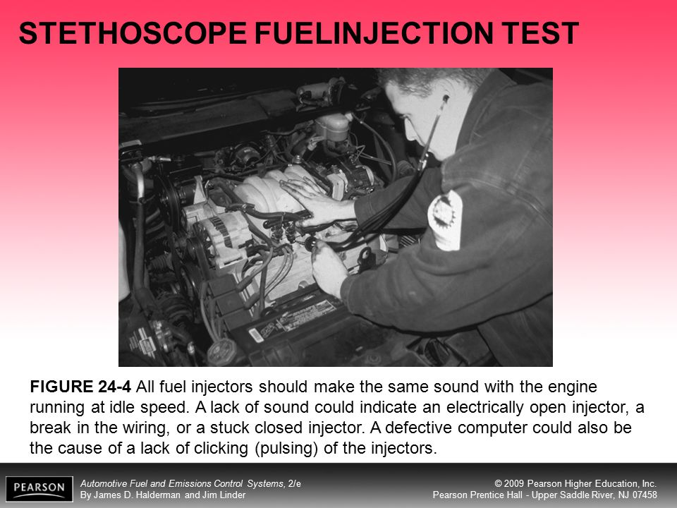 STETHOSCOPE FUELINJECTION TEST