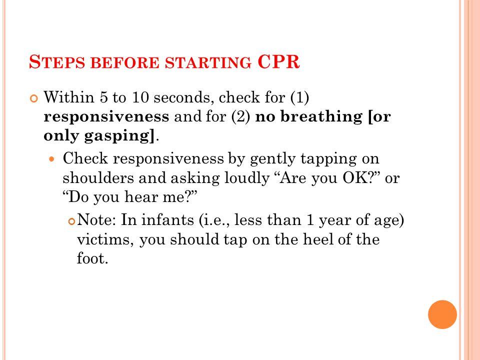 Cardiopulmonary Resuscitation Cpr Ppt Download