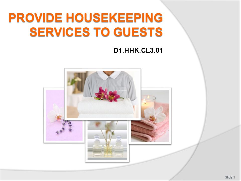 Provide housekeeping services to guests