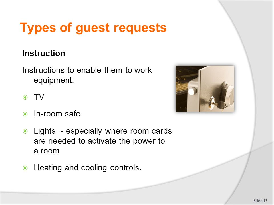 Provide housekeeping services to guests - ppt download