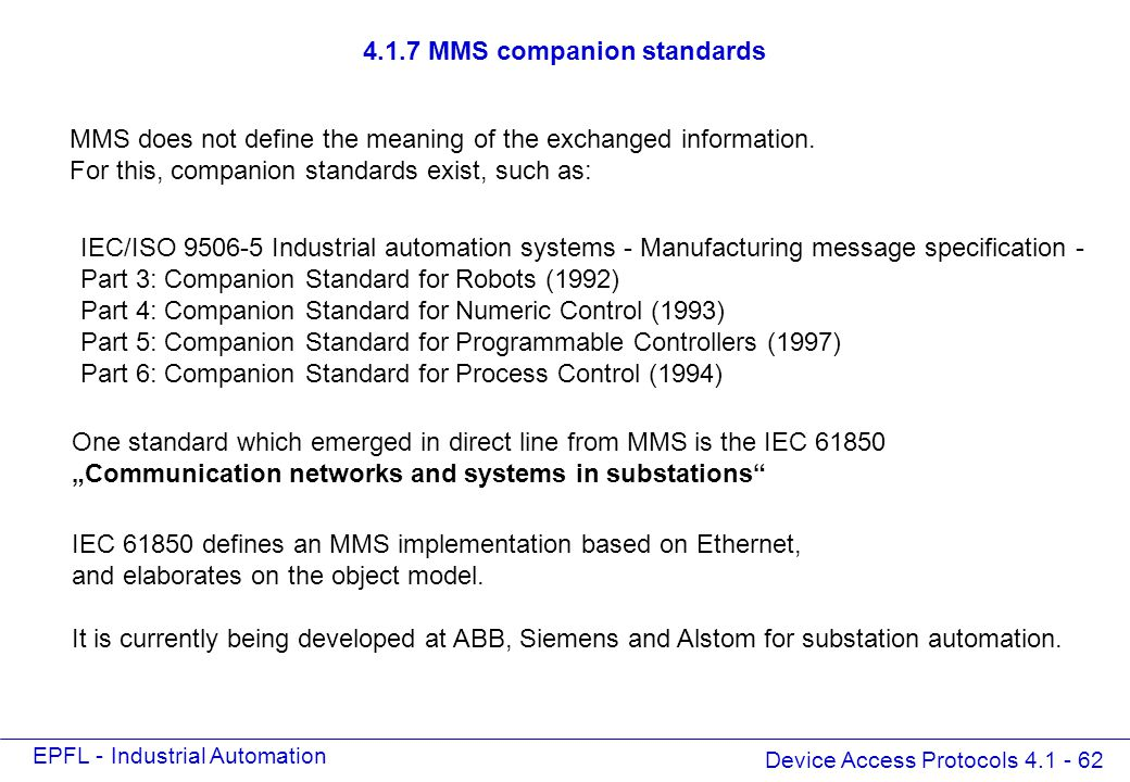 HART, SNMP, TNM, BacNet, MMS - ppt download