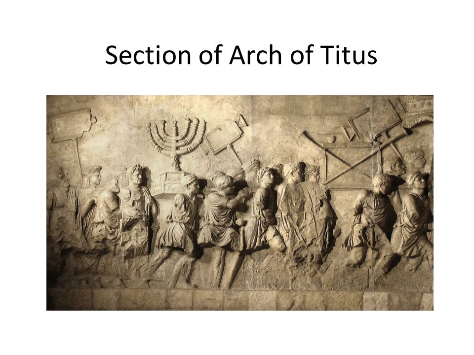 Section of Arch of Titus