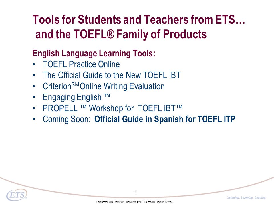 Tools & Resources for the ELL Classroom from ETS Annabelle
