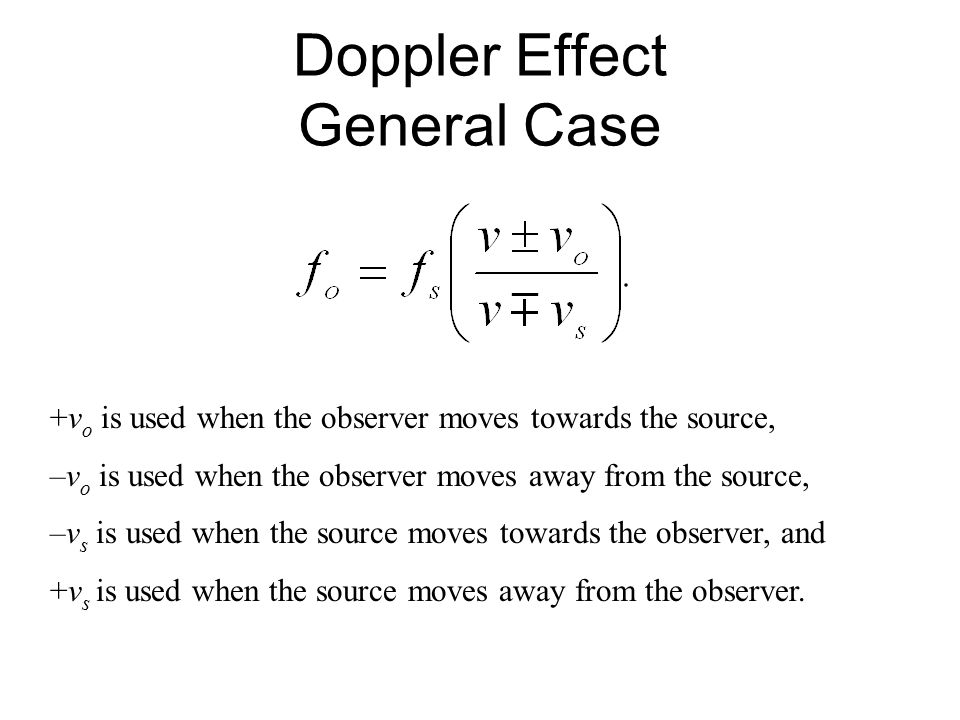 16 9 The Doppler Effect  - ppt video online download