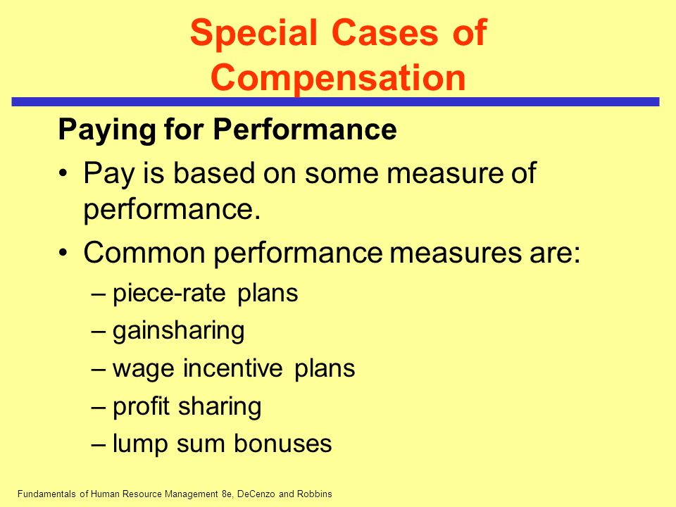 are pay for performance plans or incentives plans needed Pay-for-performance plans would increase productivity, employees say  • men are more frequently in performance pay plans  believe that employers should provide incentives.