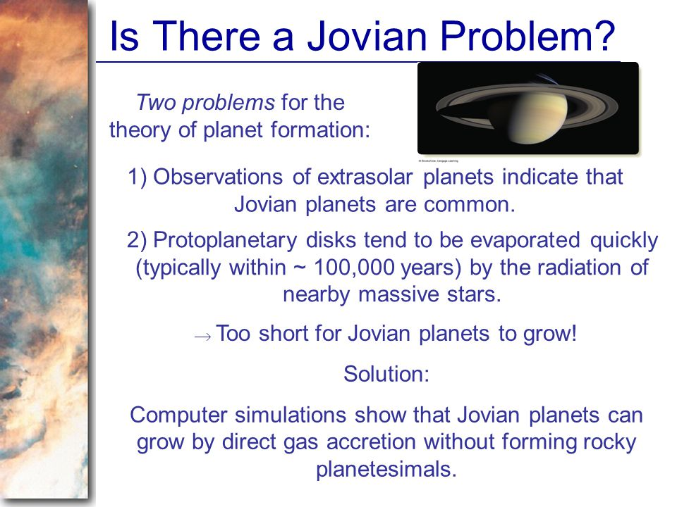 Is There a Jovian Problem