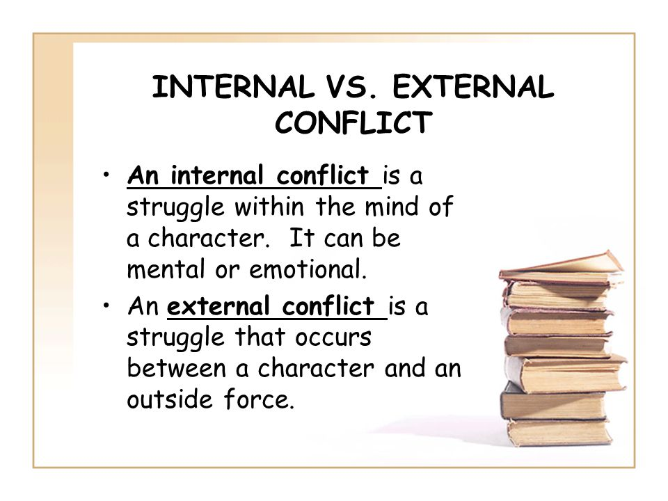 conflict external or internal