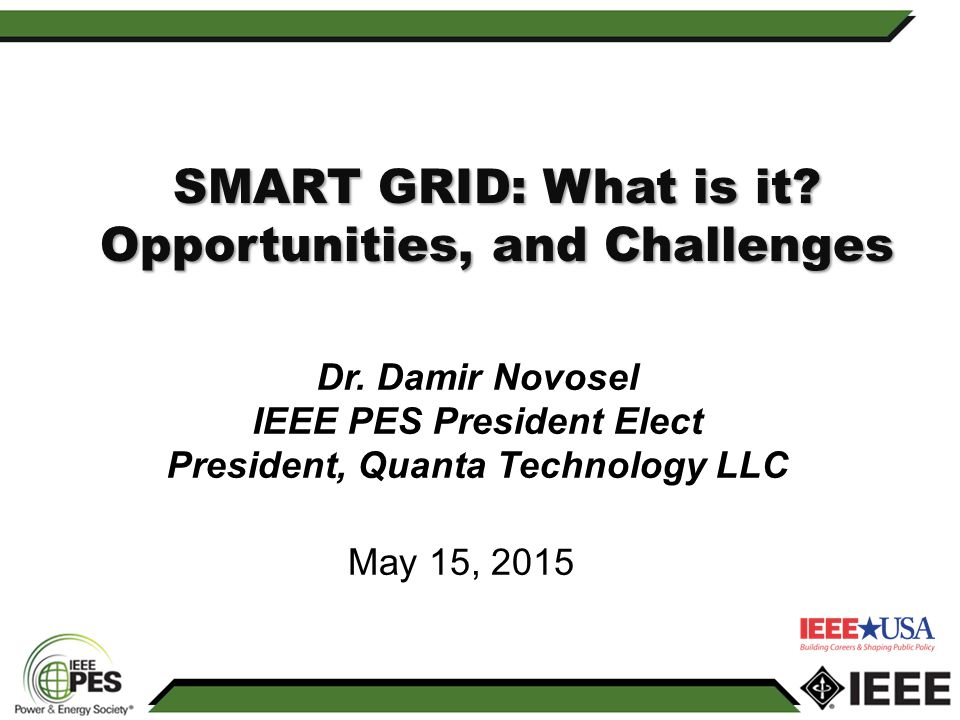 SMART GRID: What is it Opportunities, and Challenges