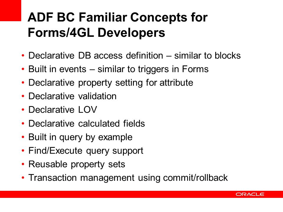 Oracle JDeveloper and Oracle ADF Overview - ppt video online download