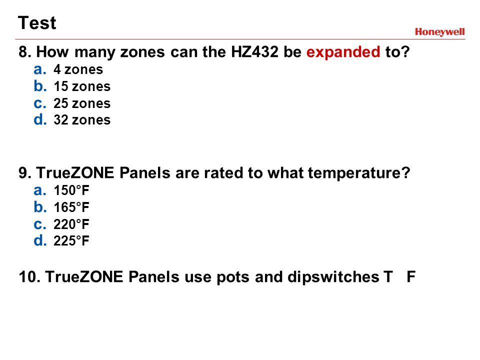 TrueZONE™Panels Training Module - ppt video online download