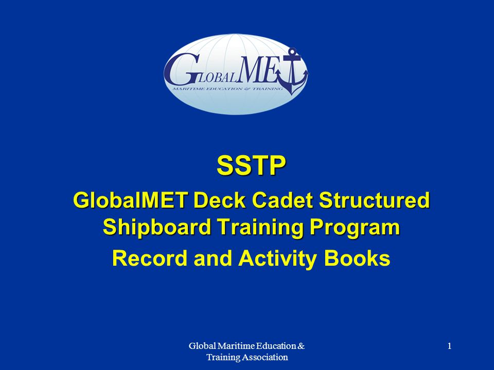 effective implementation of structured shipboard training