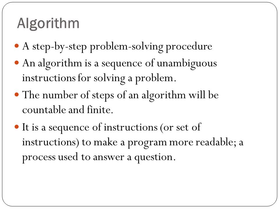 Algorithm & Flowchart  - ppt video online download