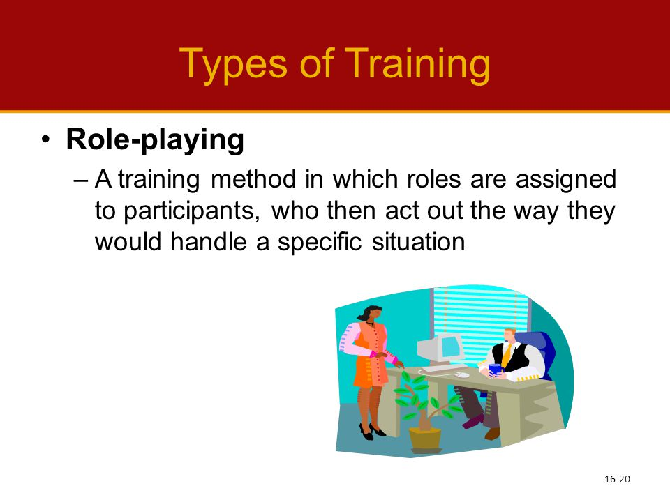 Types of Training Role-playing