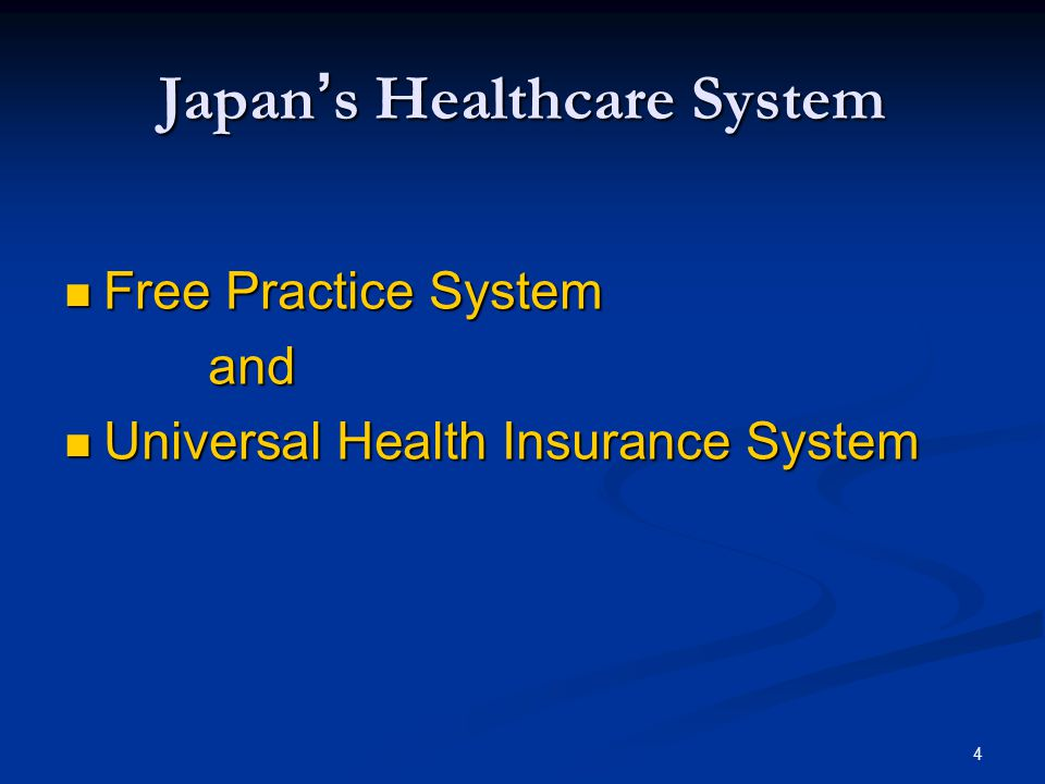 Japan S Healthcare System And Generic Drug Industry Ppt Download