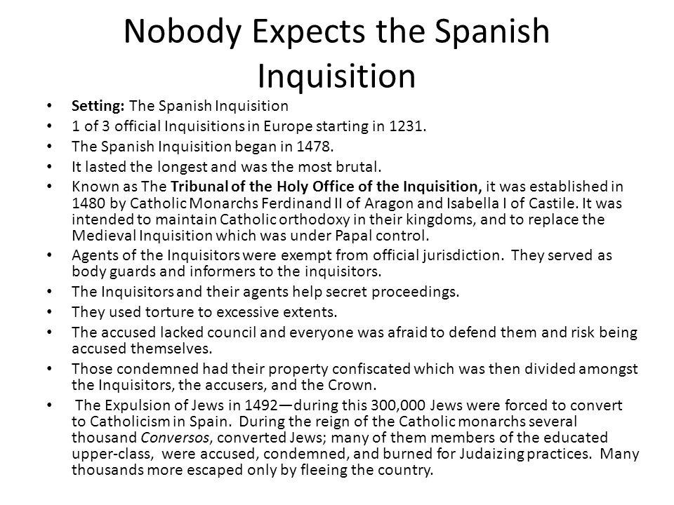 Spanish Inquisition Essay  Hepatitze