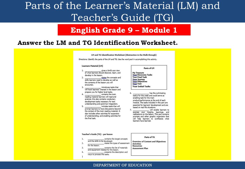 Walking Through Grade 9 English - ppt download