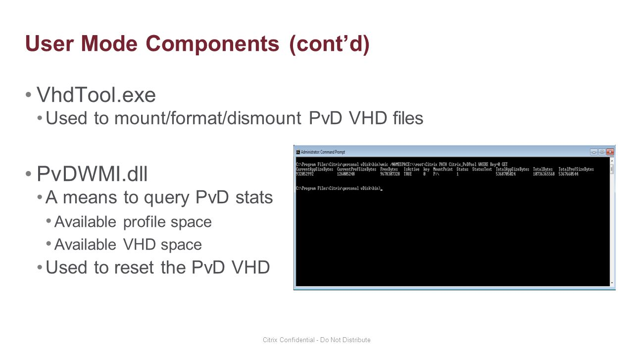 Personal vDisk Architecture and Design - ppt video online download