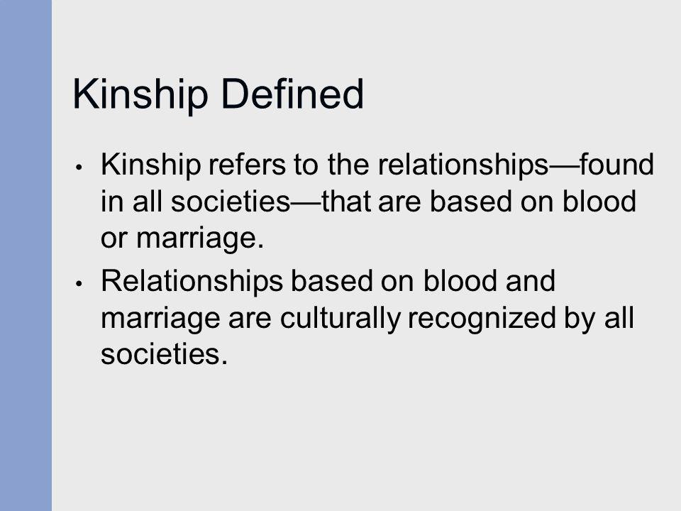 kinship definition anthropology