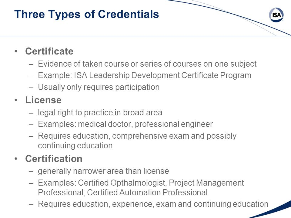Isa Certified Automation Professional Cap Ppt Download