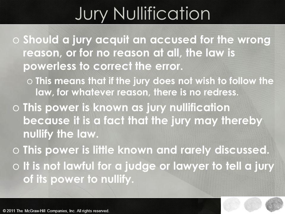 define jury nullification