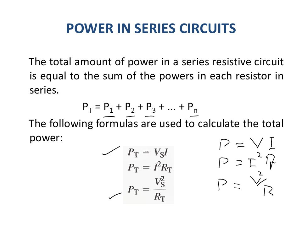 previous lecture 6 resistors in series current in a series circuit rh slideplayer com