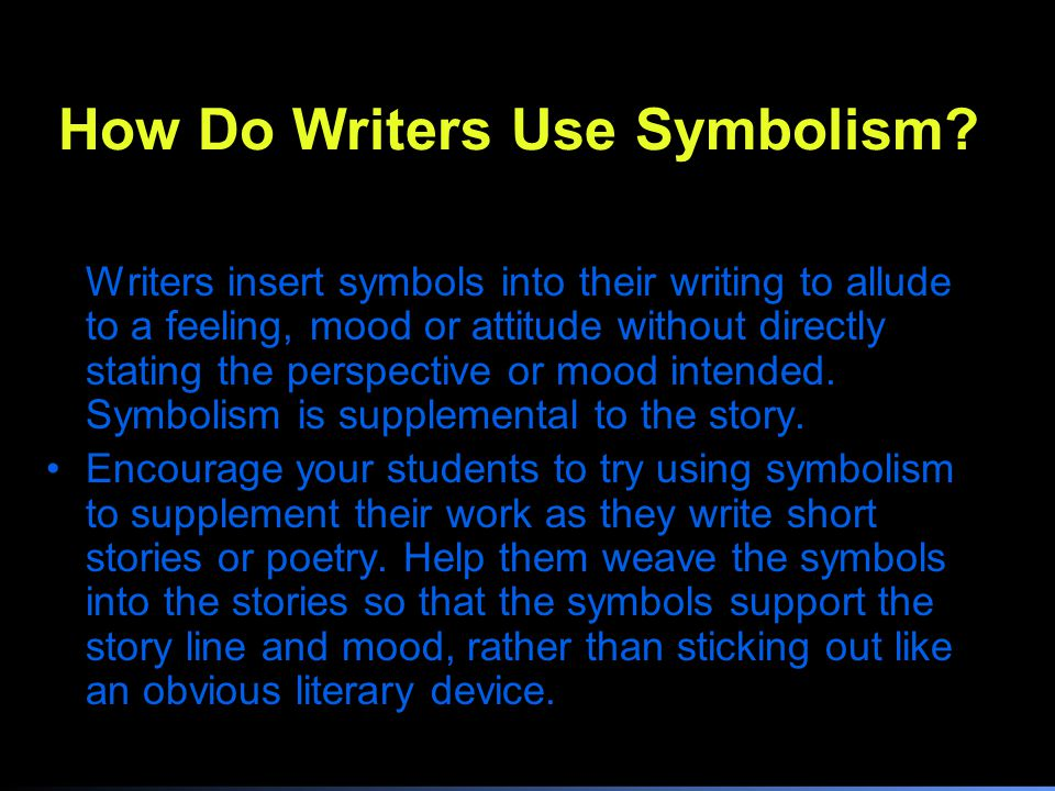Symbolism Ppt Video Online Download