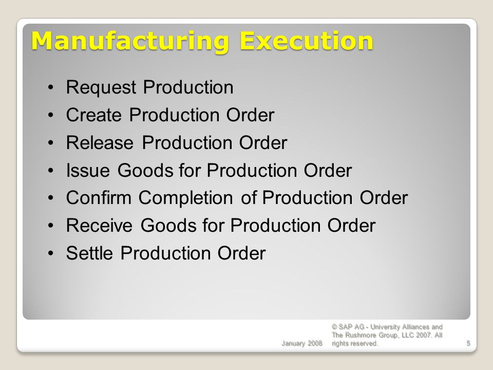 Production Planning Processes Theories & Concepts - ppt