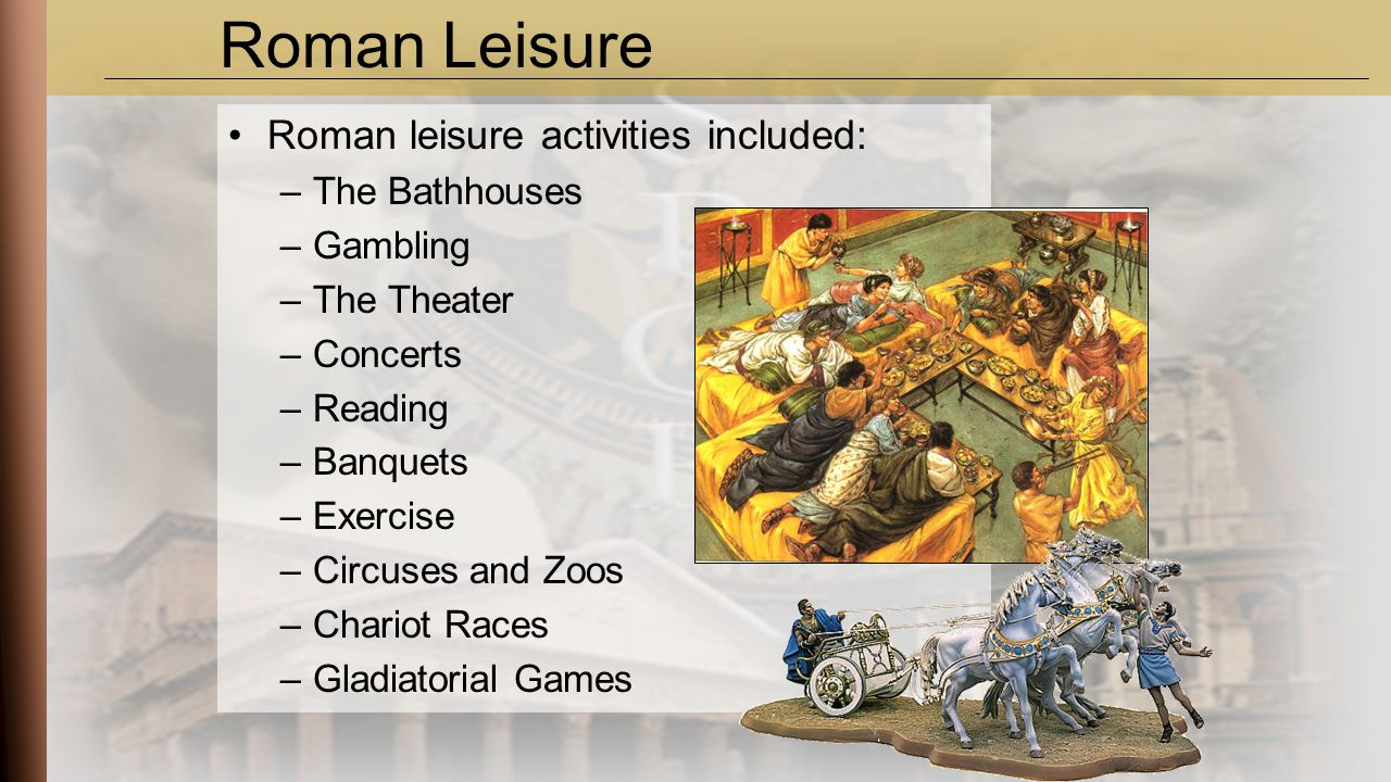roman leisure activities