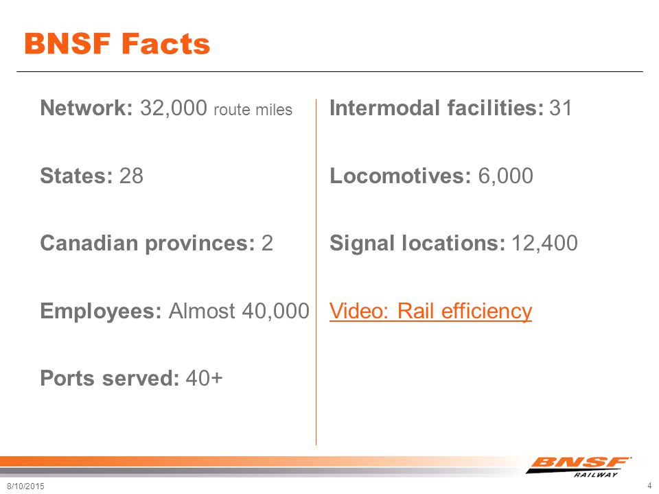 BNSF Telecommunications Overview - ppt download