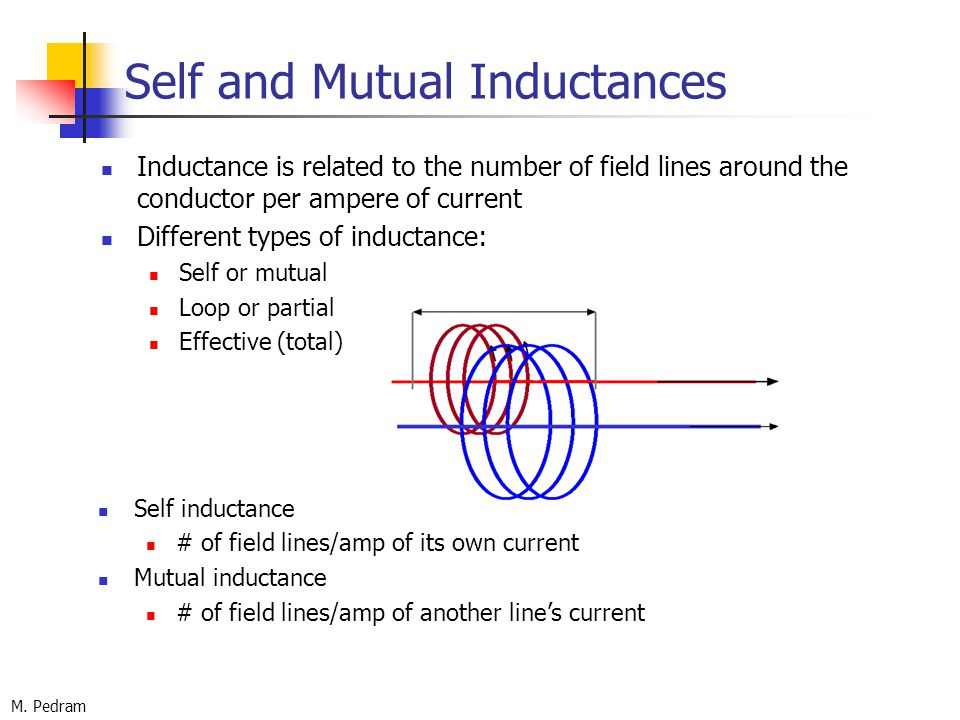 self inductance and mutual inductance pdf