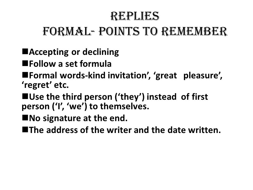 Welcome ppt video online download replies formal points to remember stopboris Gallery