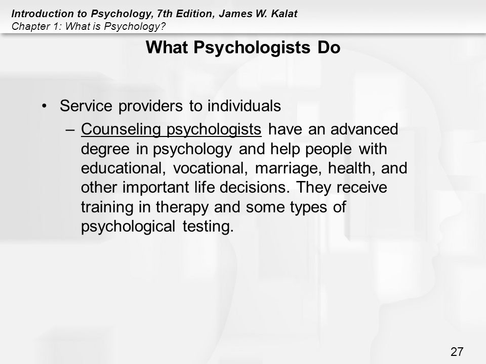 PSYCHOLOGY What is Psychology? - ppt download