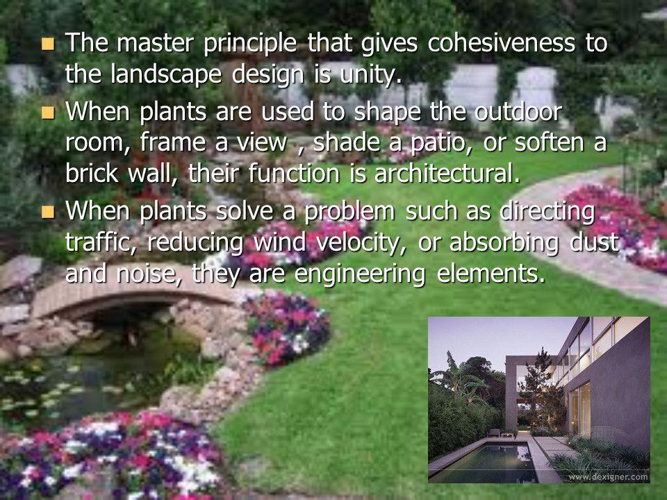 Chapter 9 Landscape Design Ppt Download