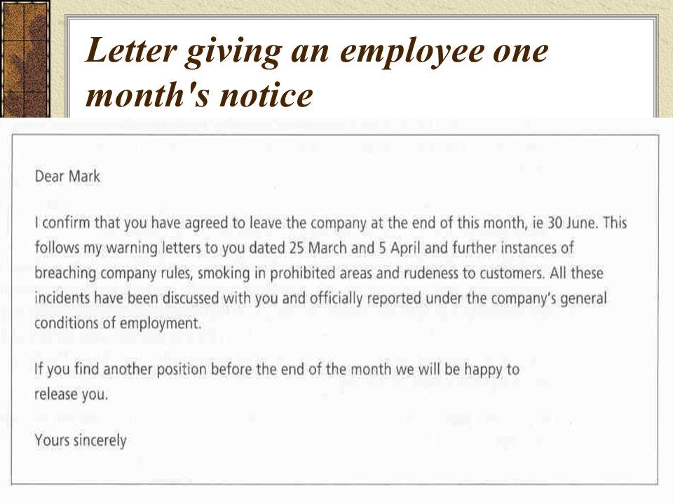 template letter giving notice to employee 33 two weeks notice letter