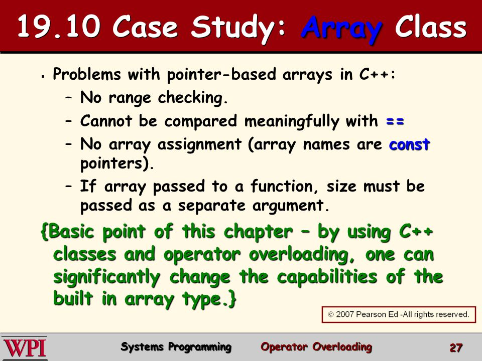 19.10 Case Study: Array Class