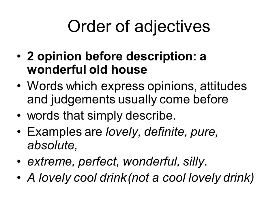 words to describe an old house