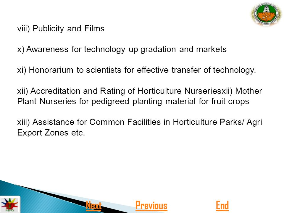 GOVERNMENT SCHEMES AND POLICIES IN MARKETING AGRICULTURAL PRODUCE IN
