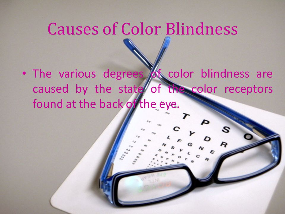 Causes of Color Blindness