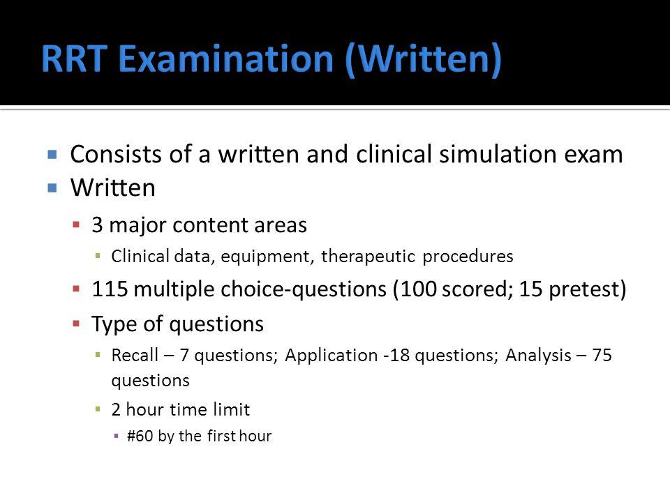 crt rrt exam review workshop ppt video online download rh slideplayer com RRT Practice Exam RRT Exam Study Guide